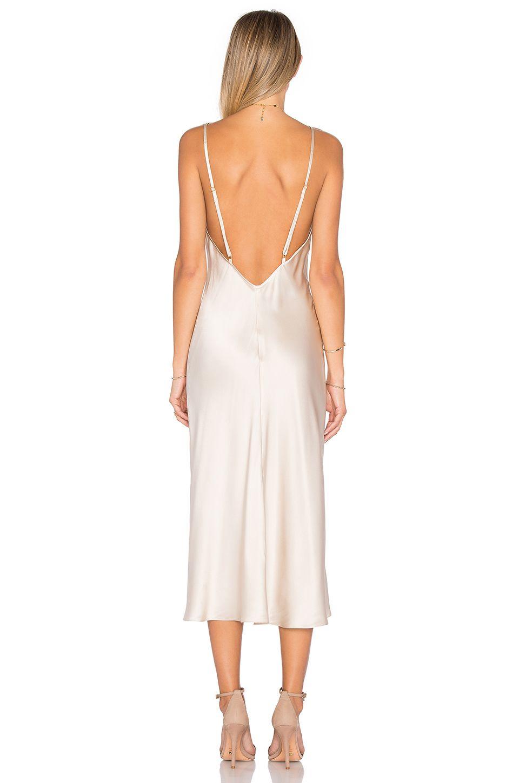 Amanda Uprichard x REVOLVE Slip Dress in Bone | REVOLVE | Abc ...