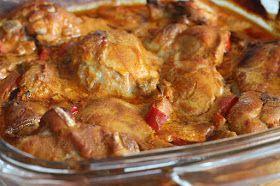 Mona's Kjøkkenskriverier: Kylling marinert i yoghurt og kashmiri masala