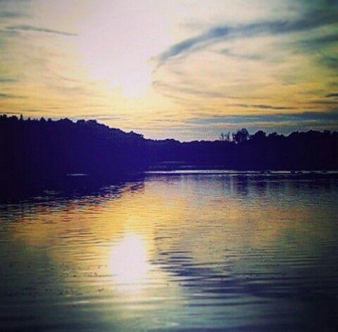 my photo, sun, nature, pond