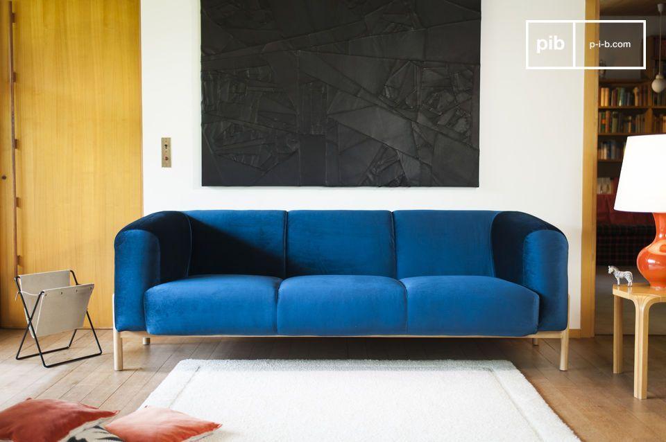Divano Velluto ~ Guarda le foto grande divano in velluto viela a home