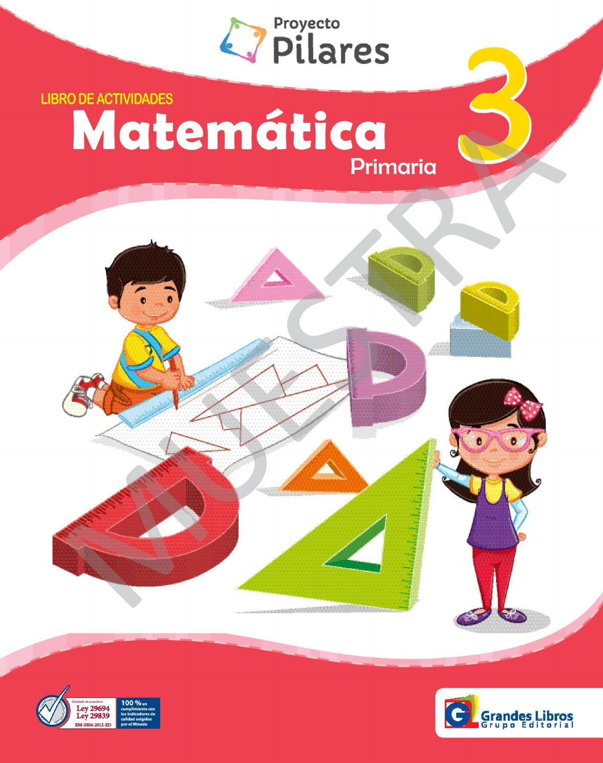 Proyecto Pilares Matematica 3 Libro De Actividades Kids Education Education Acting