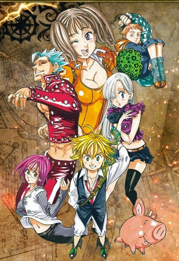Pin By Aeroga On Seven Deadly Sins Seven Deadly Sins Anime 7