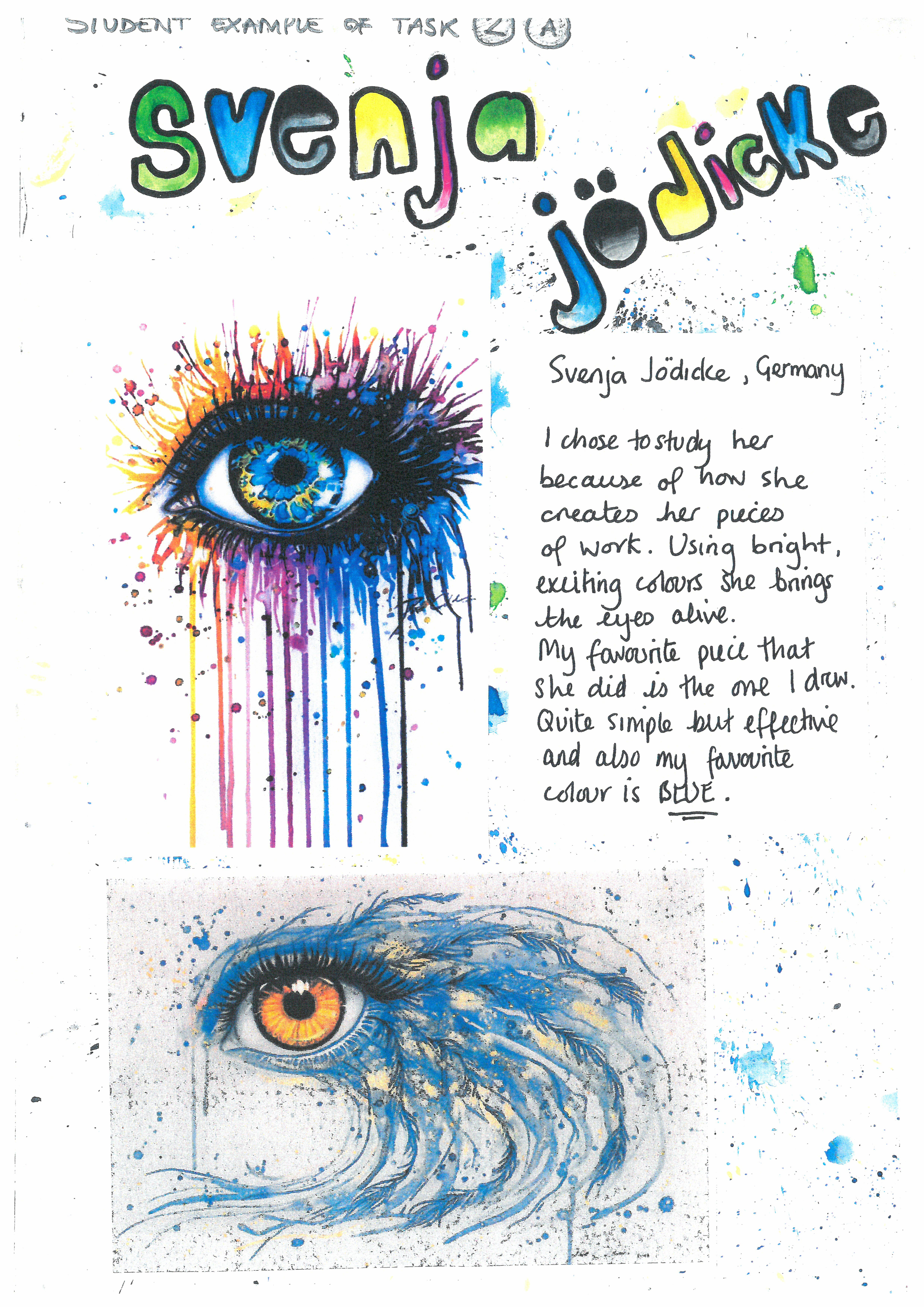 Student Suport Booklet Eyes Page 4