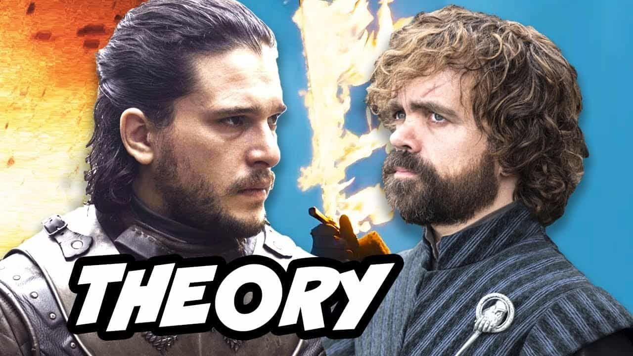Game of thrones season 8 jon snow tyrion theory season 8