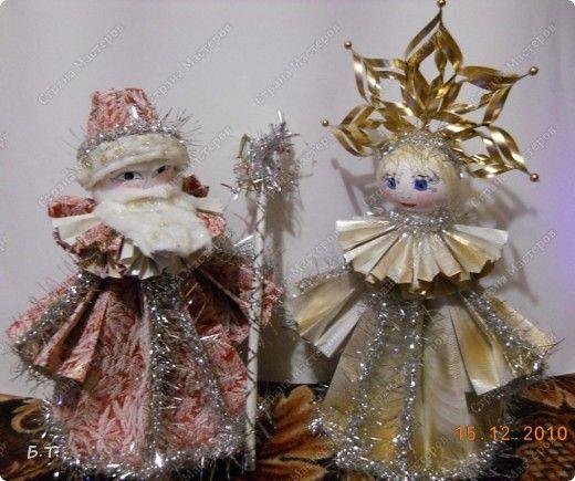 Поделки для кукол новый год