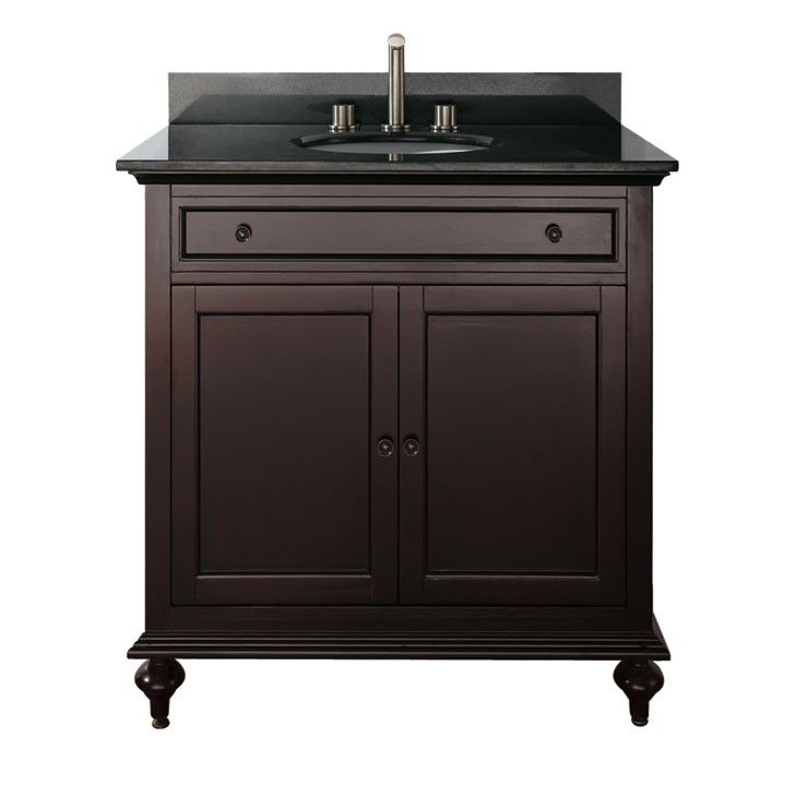 24 Inch Dark Espresso Single Sink Bathroom Vanity | AVanity Merlot 31 Inch  Espresso Bathroom Vanity