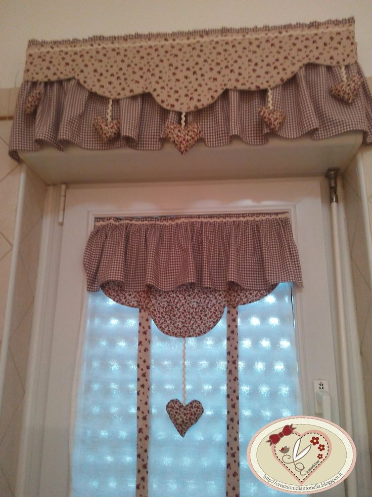 Resultado de imagem para porta rotoli tessuti a decora o nel 2019 cortinas cortinas para - Mantovane per cucina ...