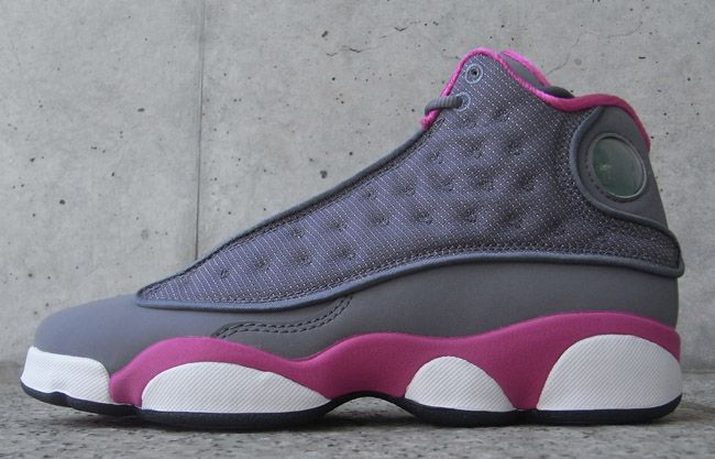 separation shoes b036a 06037 Release Reminder  Air Jordan 13 Retro GS   Cool Grey   Fusion Pink