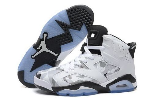 release date: fa88a 2a93c ... discount nike air jordan vi 6 retro mens shoes special white gray black  online store f3bb0