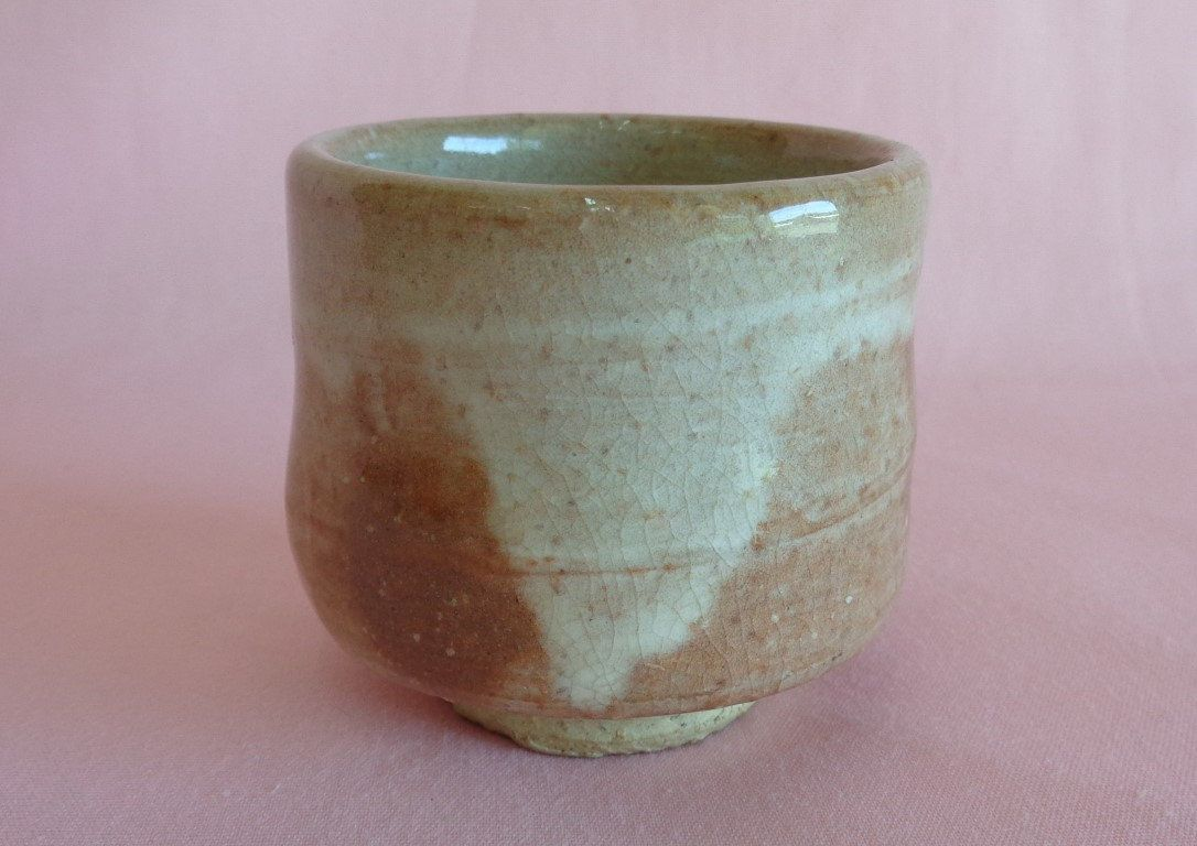 Reserved Sake Cup Japanese Hagi Yaki Art Pottery No S0851 Pottery Art Sake Pottery