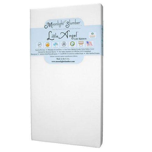 Amazon Com Moonlight Slumber Little Dreamer Dual Firmness All Foam Crib Mattress Baby Crib Mattress Mattress Cribs