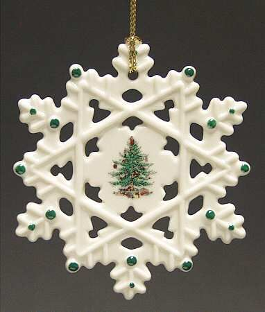 Snowflake - Boxed in the Spode Christmas Tree Misc-Orn pattern by