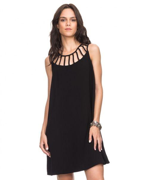 AMARO | Vestido Recortes Gola