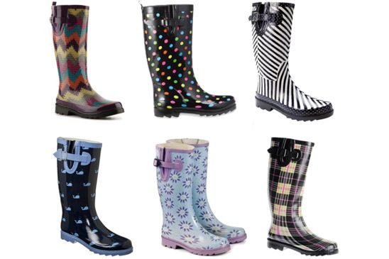 Fashion Rain Boots - Cr Boot