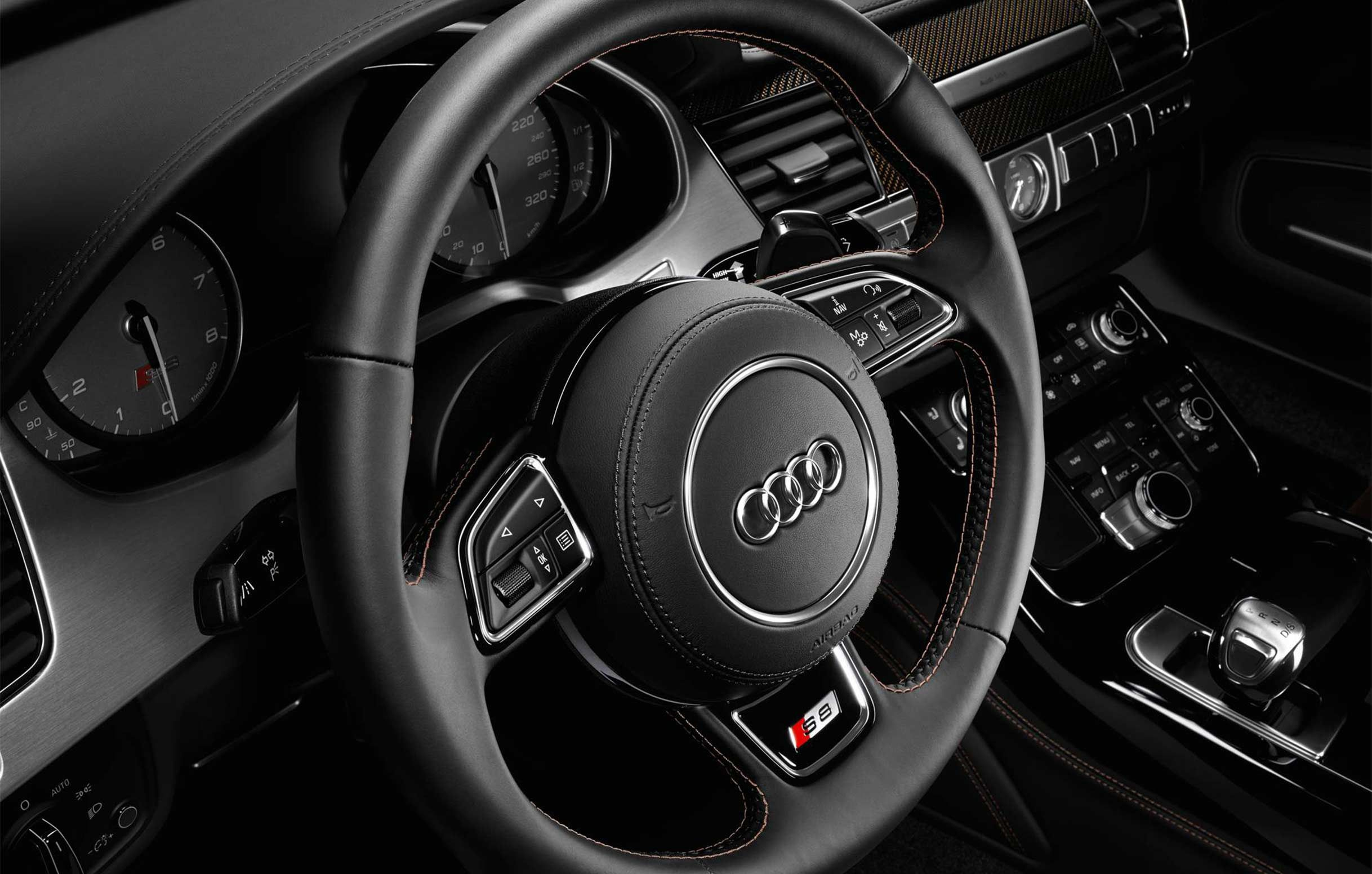 Audi s8 steering wheel