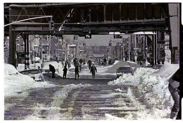 photos of boro park | Boro Park Brooklyn Snowstorm 1983 - Telephoto from 56st - 36st on 13th ...