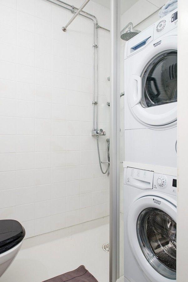 amnagement petite salle de bain avec lave linge trendy. Black Bedroom Furniture Sets. Home Design Ideas