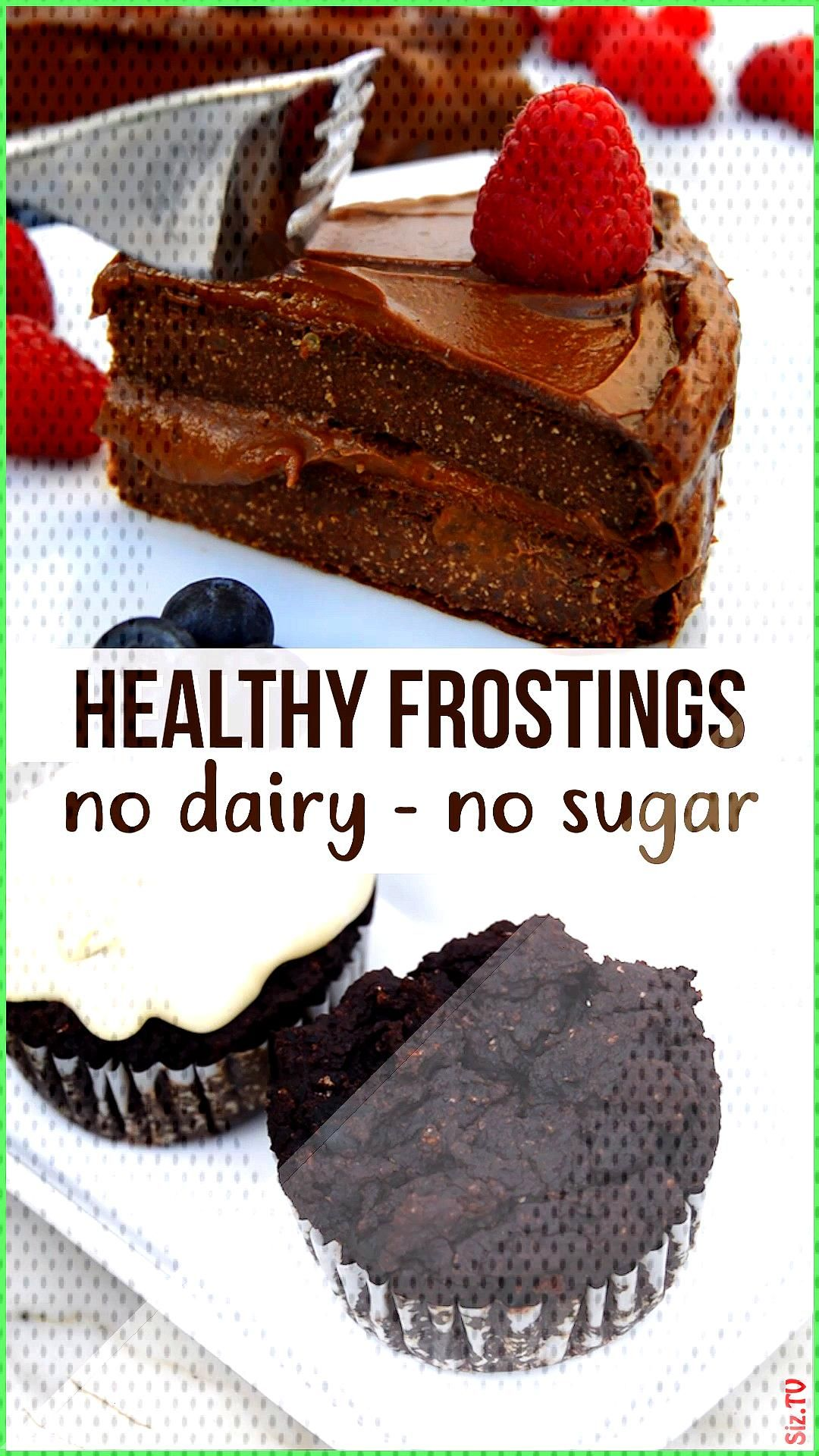 Healthy Frosting Healthy Frosting Nest and Glow nestandglow Healthy Recipes Easy to make and health