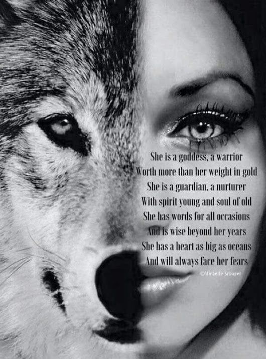 Alpha Female Lone Wolf Wolf Tattoo