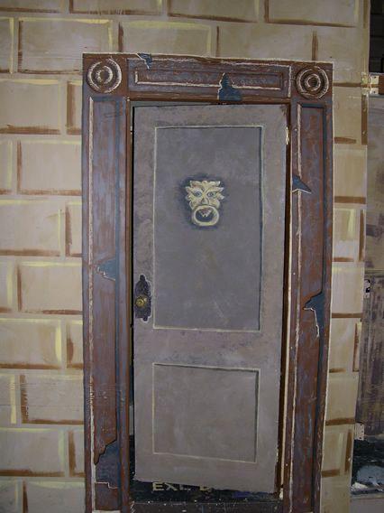 Scrooge S Door Christmas Door Decorations Xmas Carols