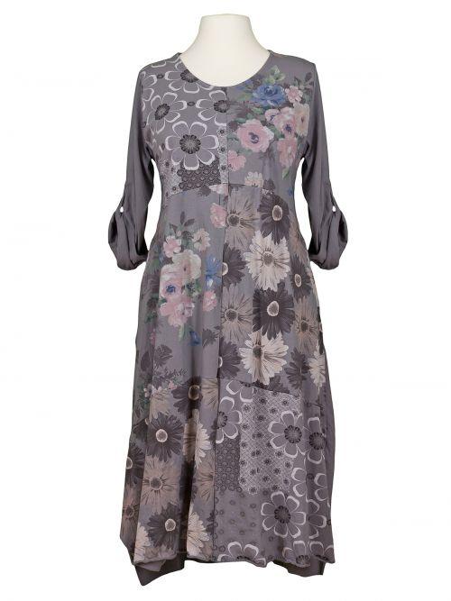 Damen Baumwollkleid A-Form, grau von Diana bei www ...