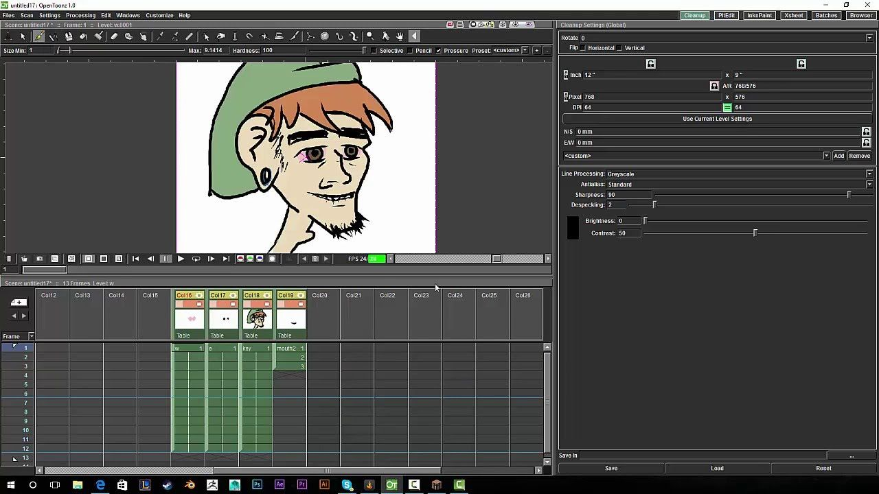 OpenToonz XSheet 101: Managing Frame by Frame Animations + Shape ...
