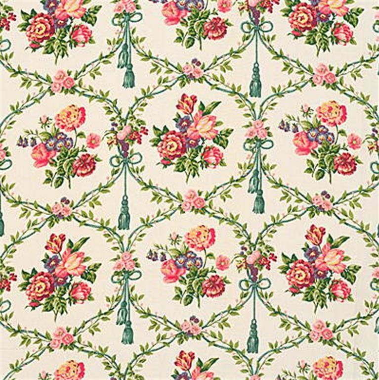 Exquisite print framboise upholstery fabric by Kravet. Item GITTENS.317.0. Discount pricing and free shipping on Kravet fabrics. Over 100,000 luxury patterns and colors. Strictly first quality. Swatches available. Width 54 inches.