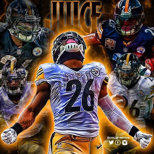 26 Le'Veon Bell Pittsburgh steelers players, Pittsburgh