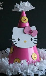 HK Party Hat Idea X Kitty Some Fun Holidays And Events