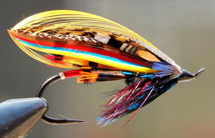 Lessons from salmon fly tyers tomsutcliffe the spirit for Salon fly