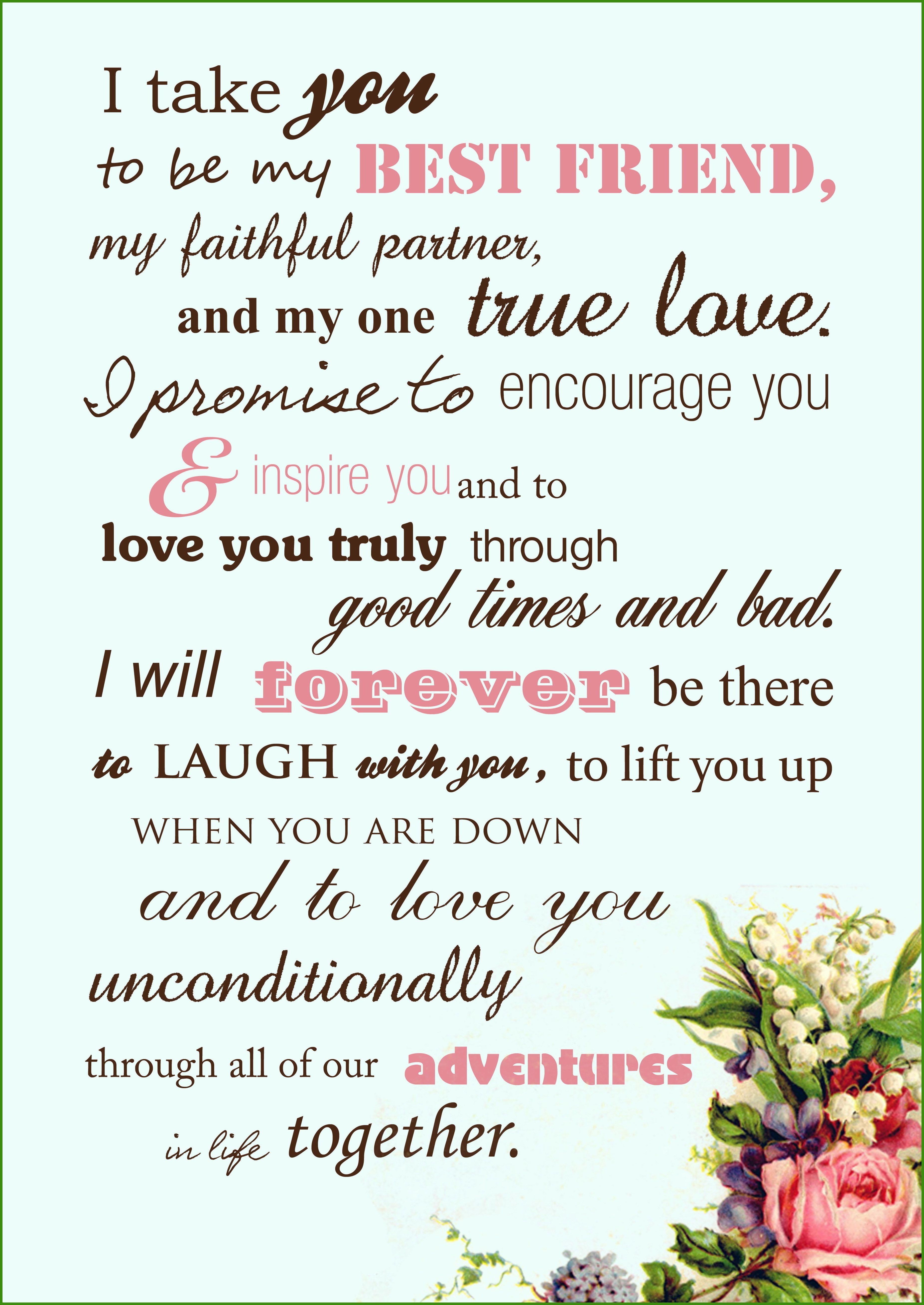 Wedding Vows Unique Ways In Declaring Your Wedding Vows