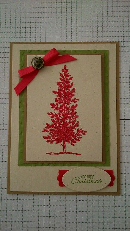 Christmas card - Stampin up