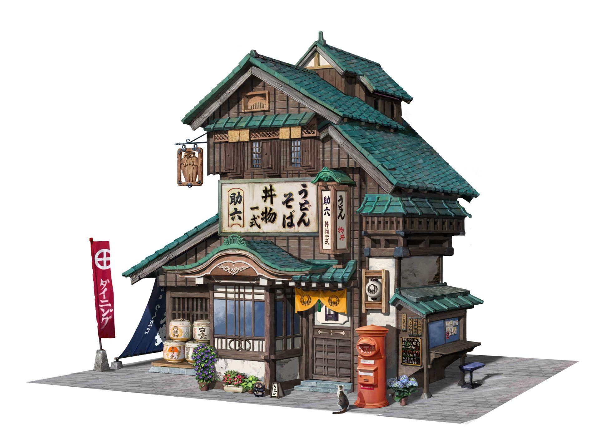 Artstation japanese restaurant arya zhao japanese