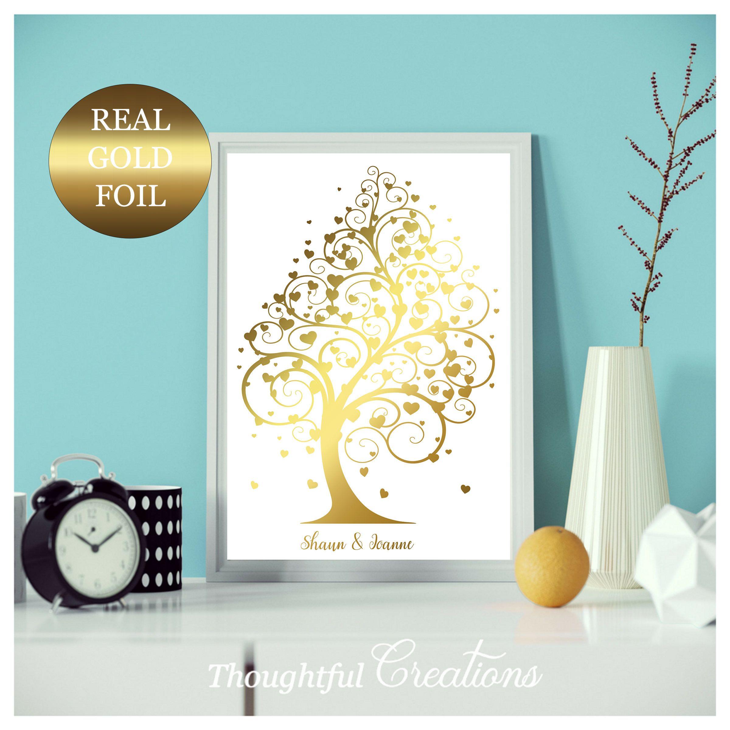 Engagement Gift, Wedding Gift, Anniversary Gift, Personalised Gift, Gift For Couple, Personalised Anniversary Gift, Rose Gold Decor,Wall Art