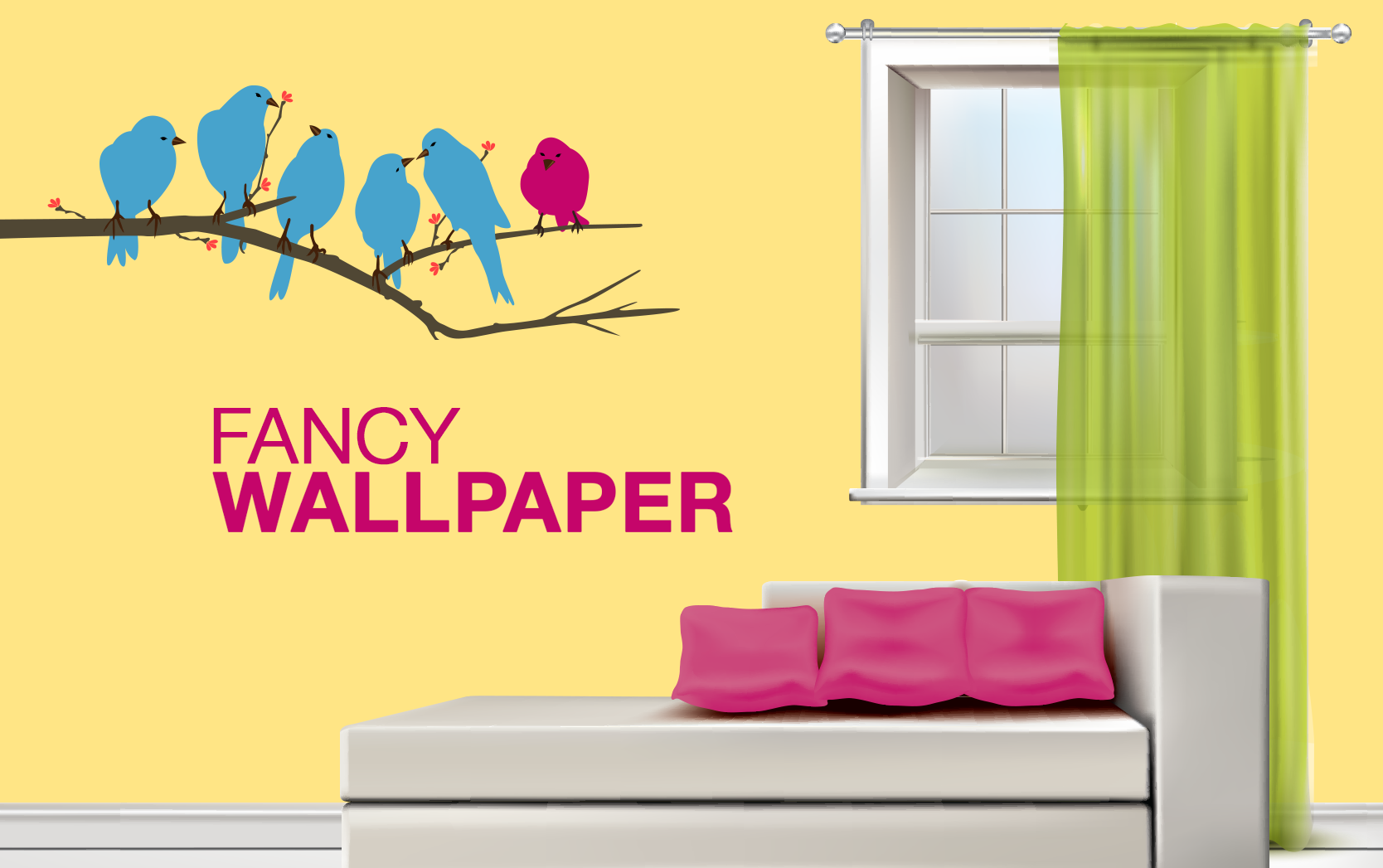 Feel free to experiment with hues & wallpapers. #godrej #interio ...