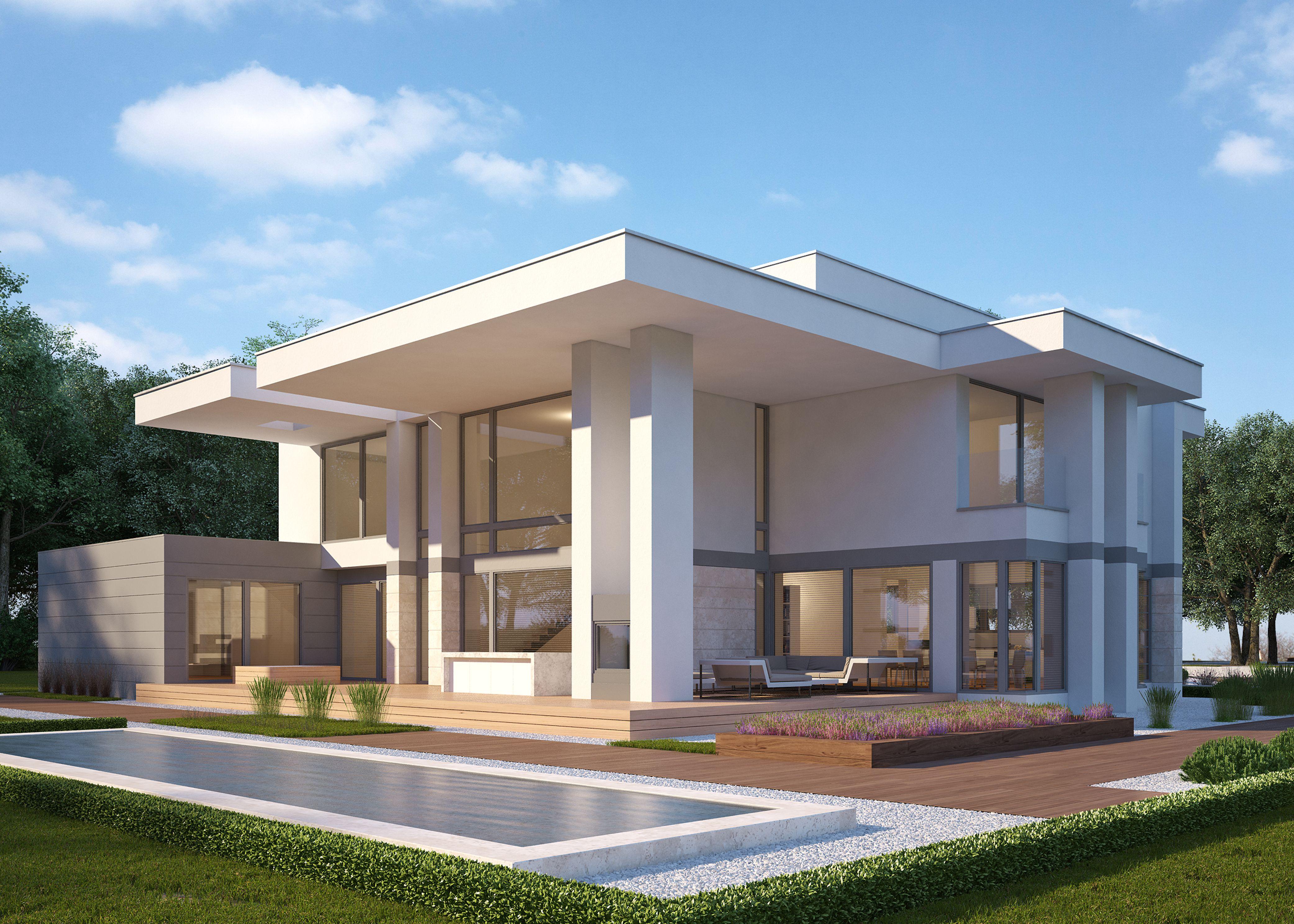 LK&1219 #projekt #domu #nowoczesnego od #LK&Projekt | Architectural ...