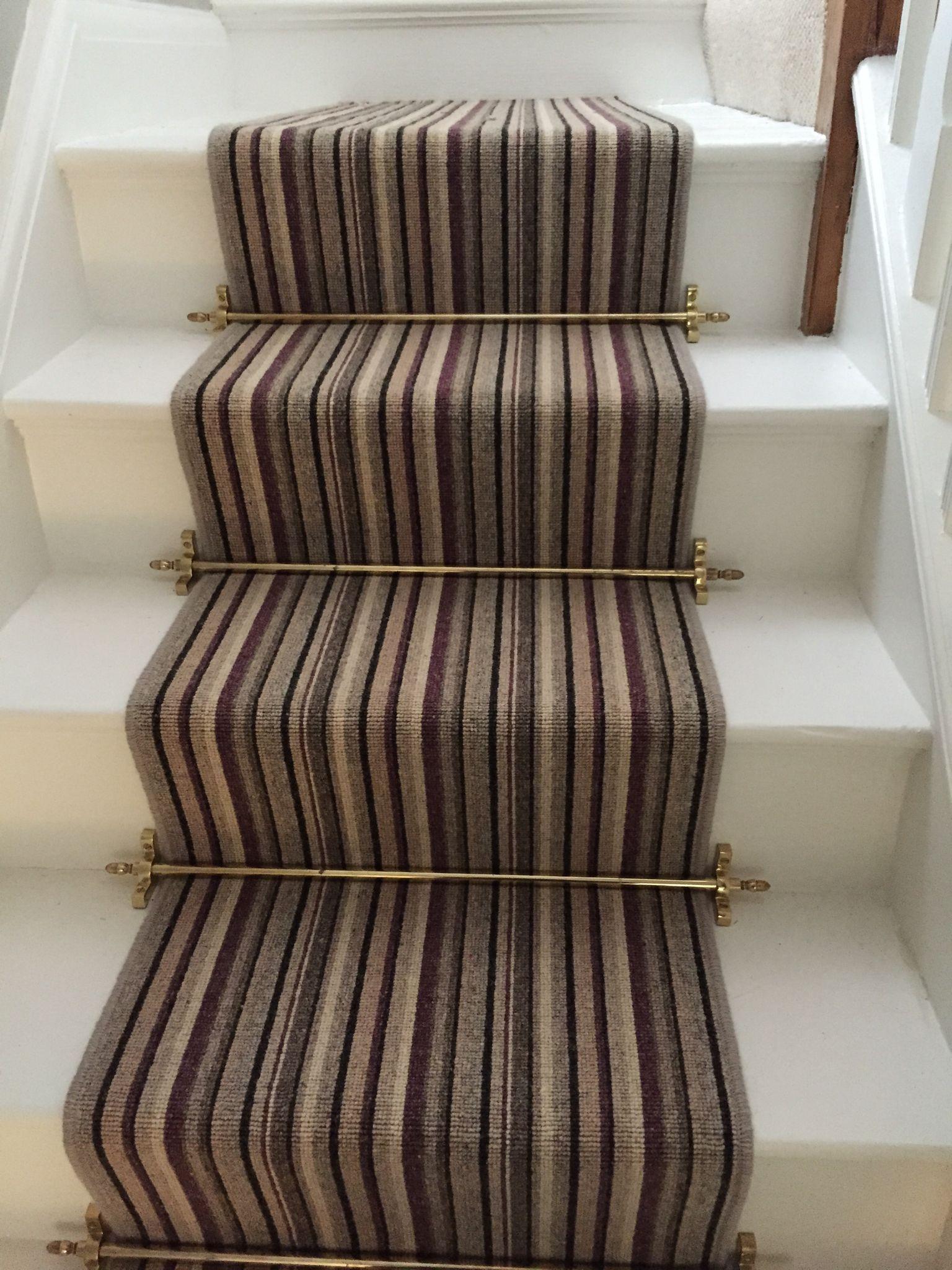 Telenzo Bakerloo Striped Carpet Striped Carpets Carpet Stairs Striped Carpet Stairs