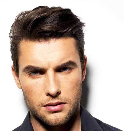men's hairstyle could get thinner with age. there are men whose