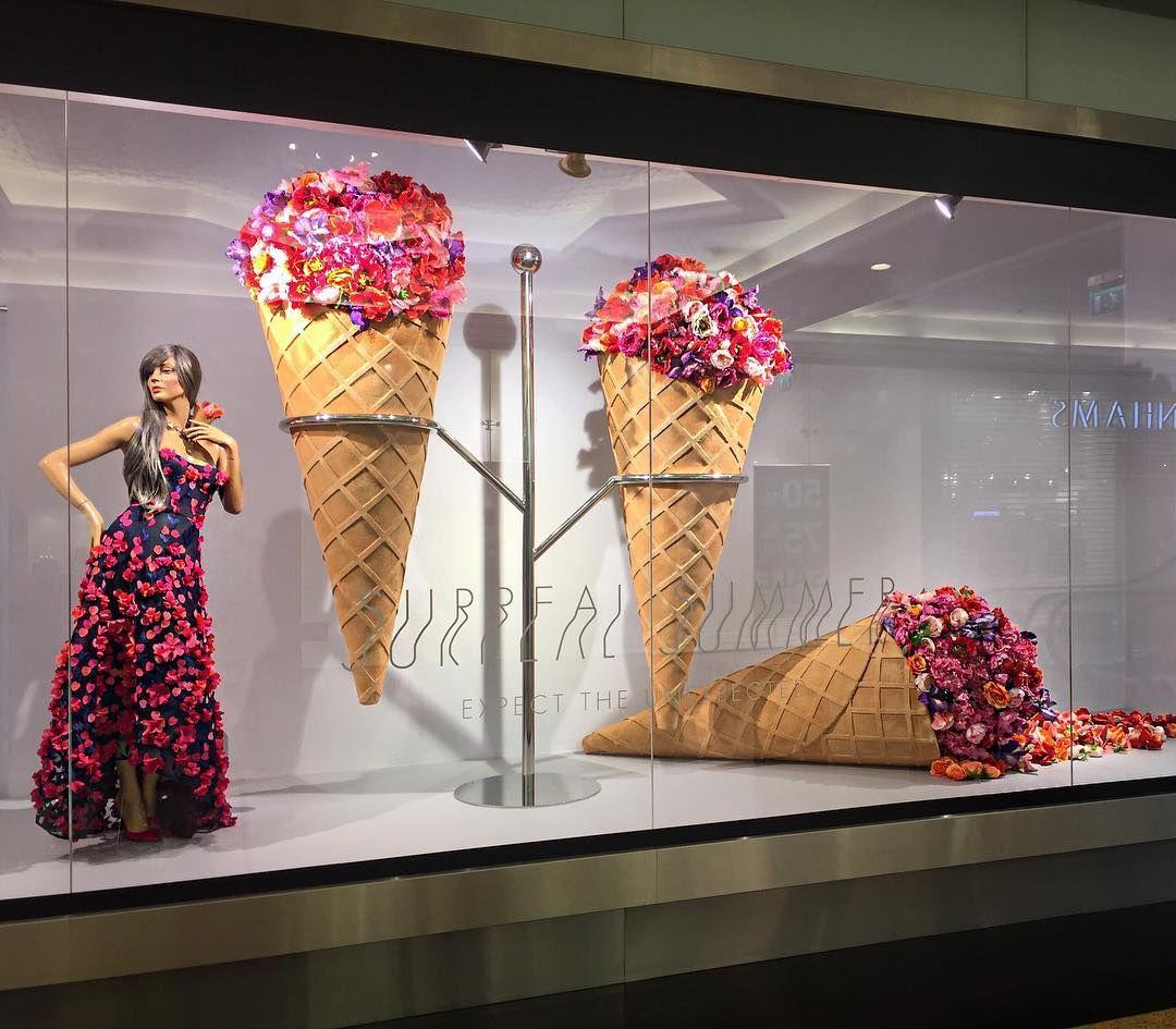 Surreal Summer By Harvey Nichols Dubai Letnie Vitriny Idei