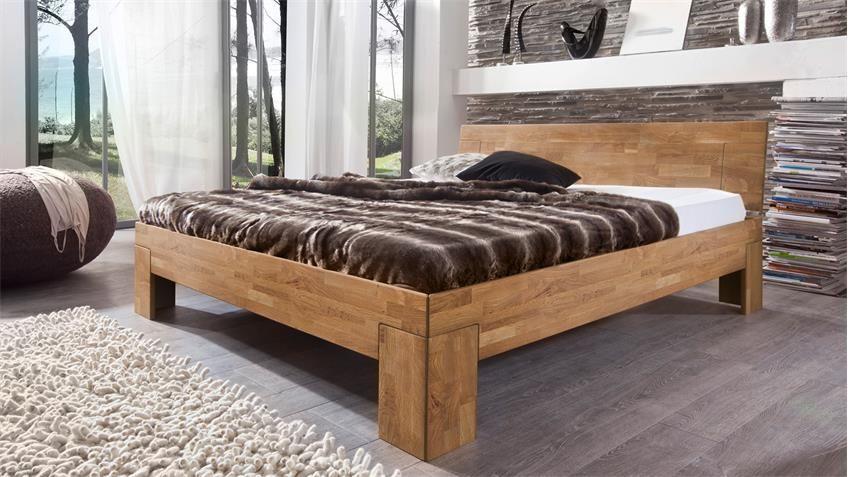 Bett Sara Schlafzimmerbett Bettgestell In Wildeiche Massiv 160x200 Cm Bettgestell Eichenbetten Massiv Bett