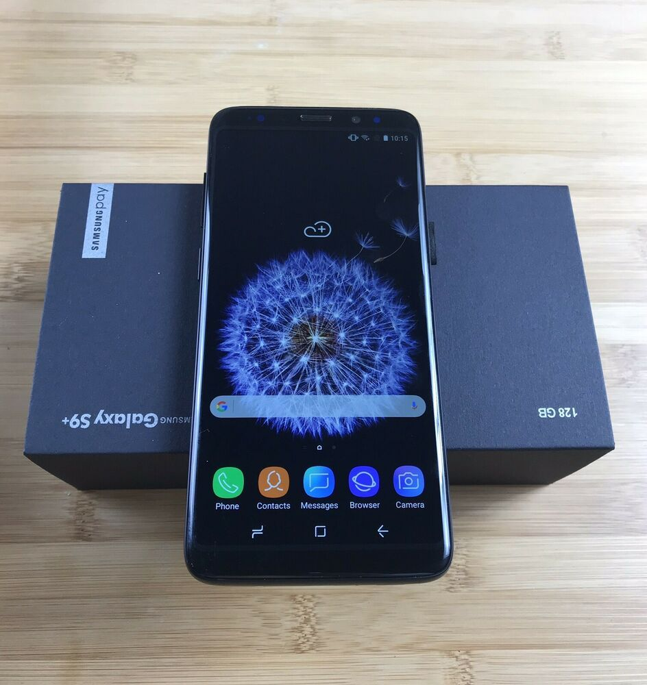 Samsung Galaxy S9 Plus 128gb Clone Gsm Unlocked S9 Dual Sim Midnight Black 23 Bids Dual Sim Samsung Galaxy S9 Blackberry Phone