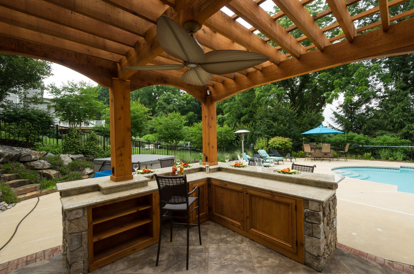 Custom outdoor living space designers Delaware | Outdoor ... on Disabatino Outdoor Living id=53093