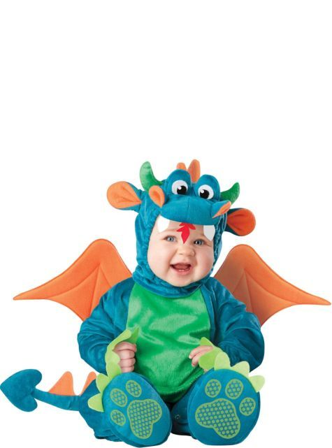 Baby Deluxe Dinky Dragon Costume - Party City Party themes and - party city store costumes