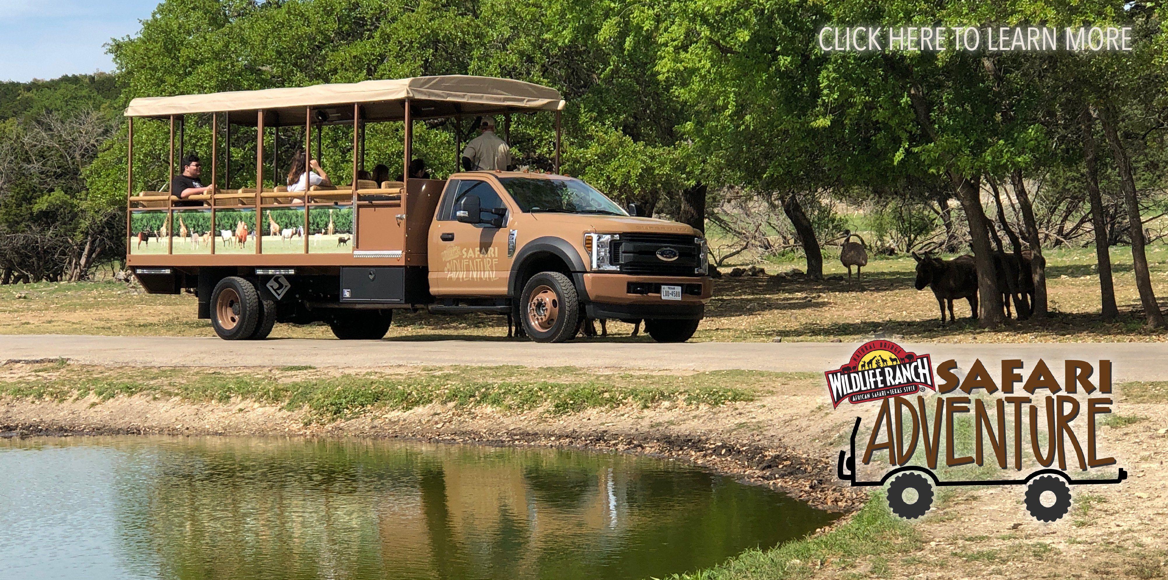 Welcome To The Natural Bridge Wildlife Ranch In San Antonio Texas Safari Adventure Travel Spot Safari Park