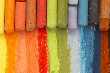 If you have children or grandchildren or ANY small children around the house, you will inevitably collect many wax crayon stubs.....