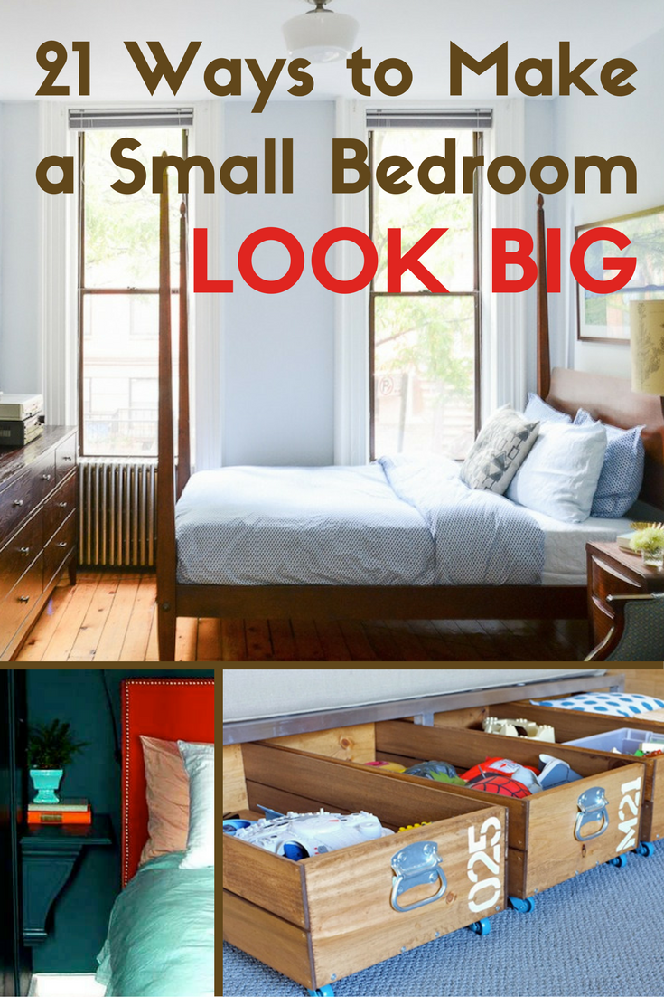 21 ways to make a small bedroom big big design bedroom kids and
