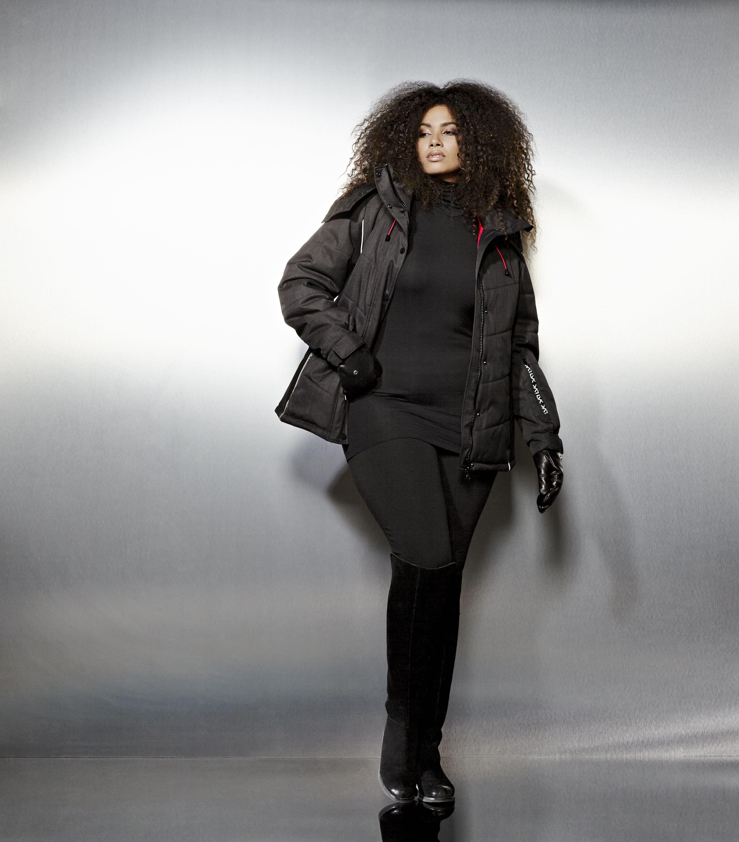 Livik Ski Jacket Plus Size Coats Plus Size Outfits Plus Size Outerwear [ 3300 x 2897 Pixel ]
