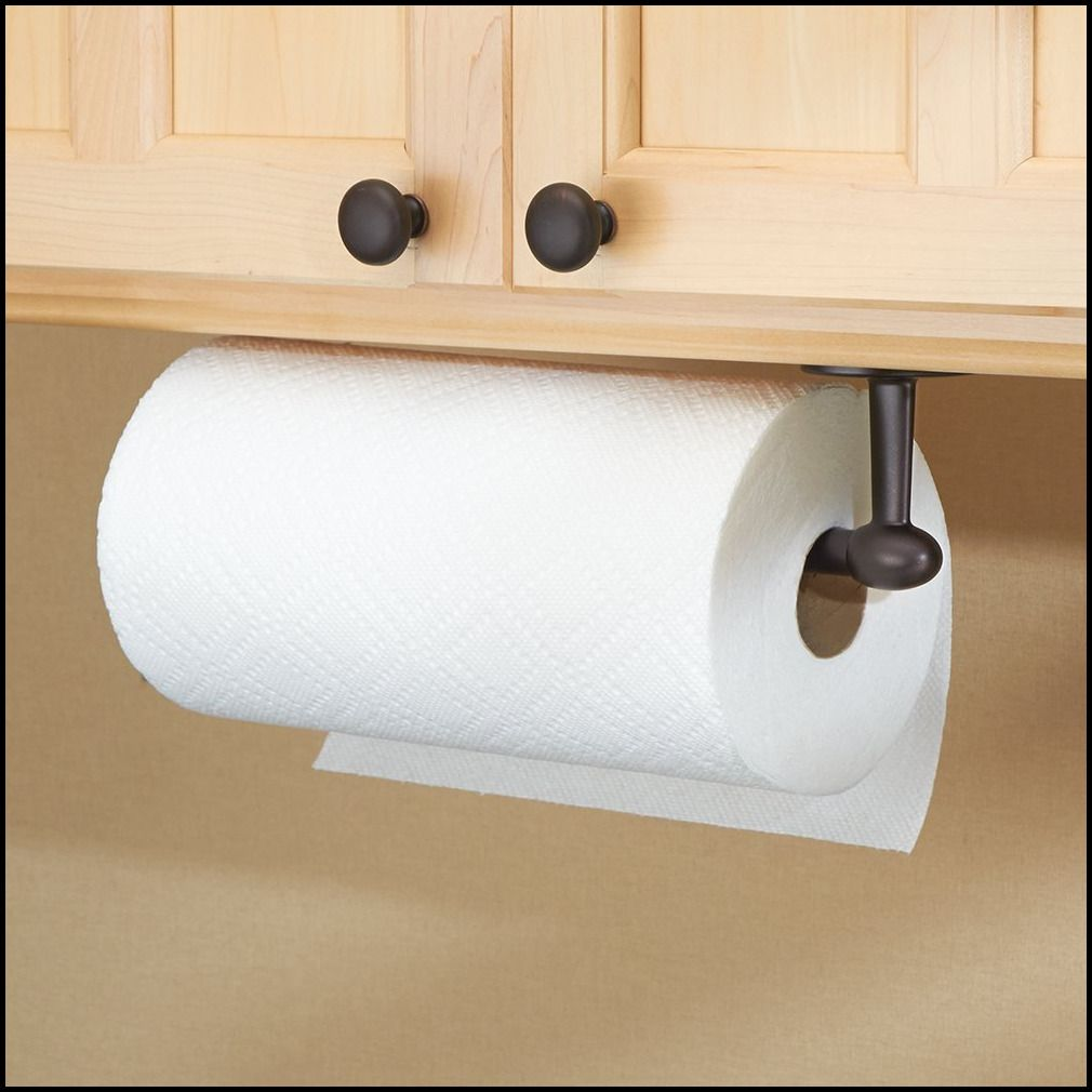 Oil Rubbed Bronze Paper Towel Holder Under Cabinet