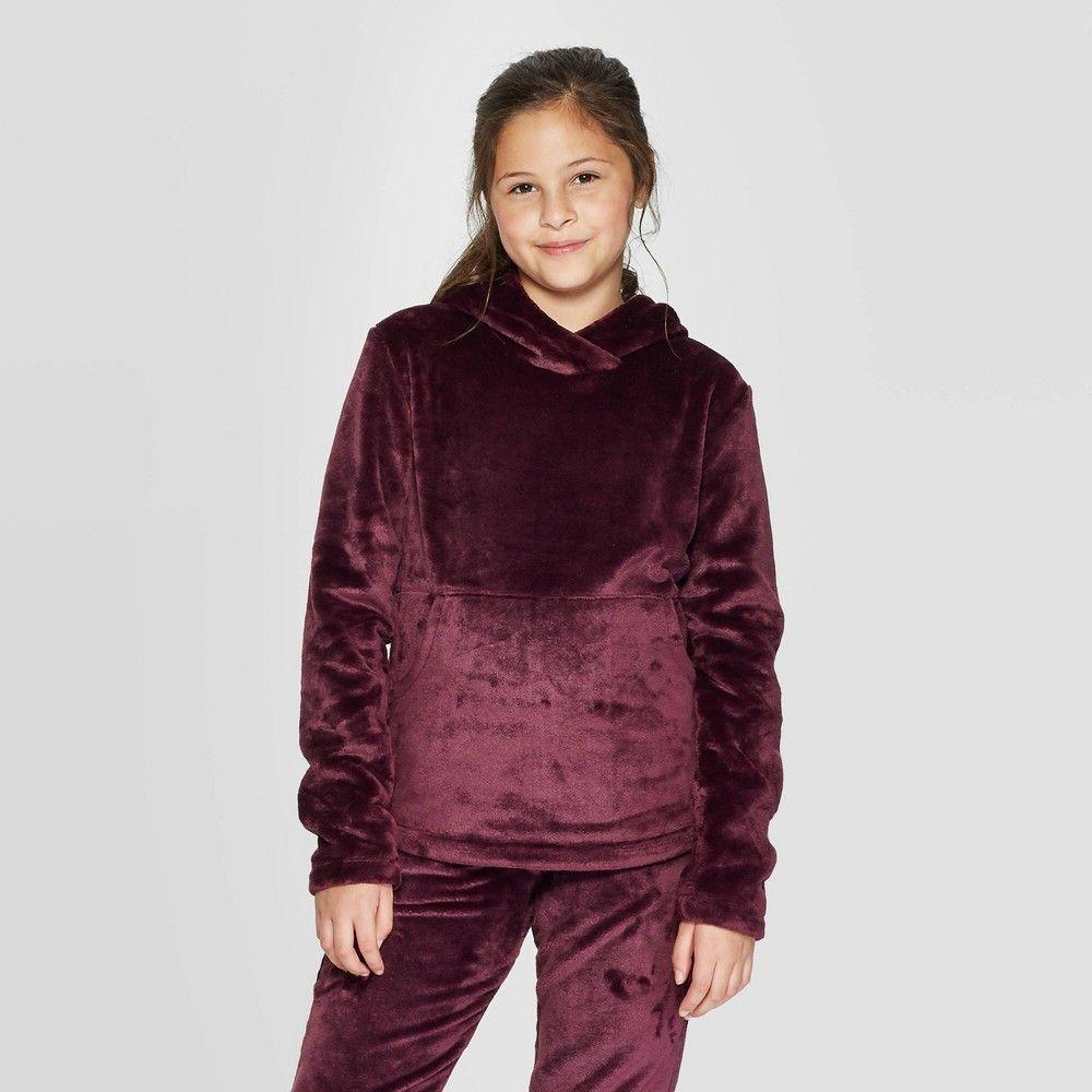 Champion C9 Girls Luxe Fleece Hoodie Pullover