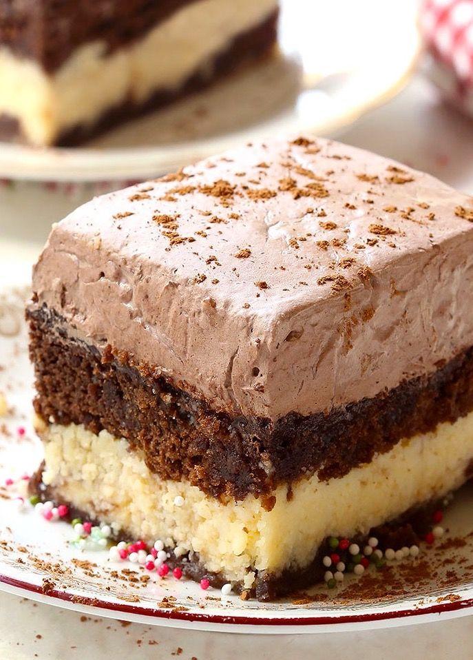 Easy Italian Chocolate Cake | Italian chocolate, Dessert ...